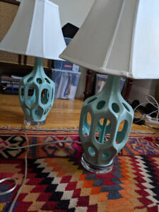 Beautiful lamps for sale!!