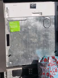 Integrated Fridge, Freezer & Dishwasher