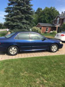2001 Honda Accord EXL Sedan