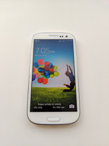 [$70]Samsung Galaxy S3, 16GB [SGH-I747M], Unlocked, V. Good Cond