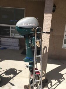 Rare Scott Atwater outboard motor