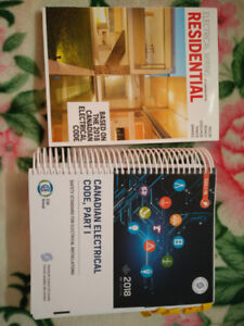 Canadian electrical code and residential prints book for sale