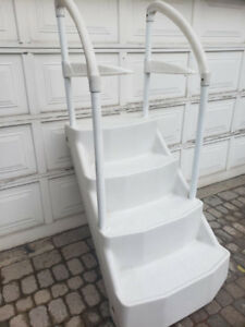 Pool steps - $50 is a winter sale price