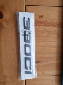 NEW M Power performance car badge 330ci car Emblem