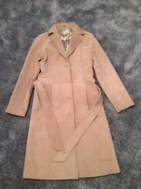 Brand New Real Suede Coat