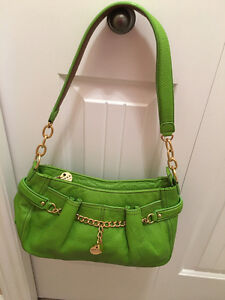 Maxx New York Pebble Leather Bag Brand New!  Green