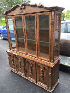 Free dining room china cabinet and buffet