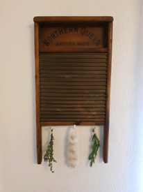 Antique Victorian Northern Queen Washboard