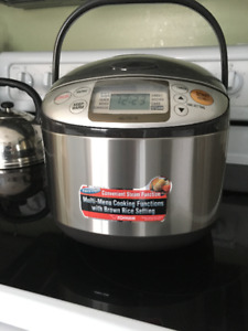 Zojirushi 5-1/2 Cup Micom Rice Cooker and Warmer in Stainless St