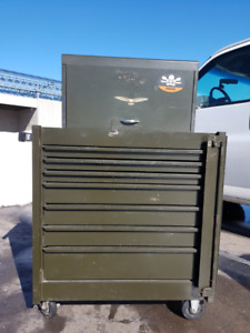 Authentic Heavy Duty Military Two-piece Toolbox
