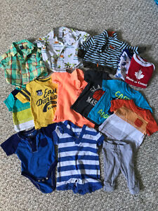 Baby boy clothes 0-3 & 3 Months