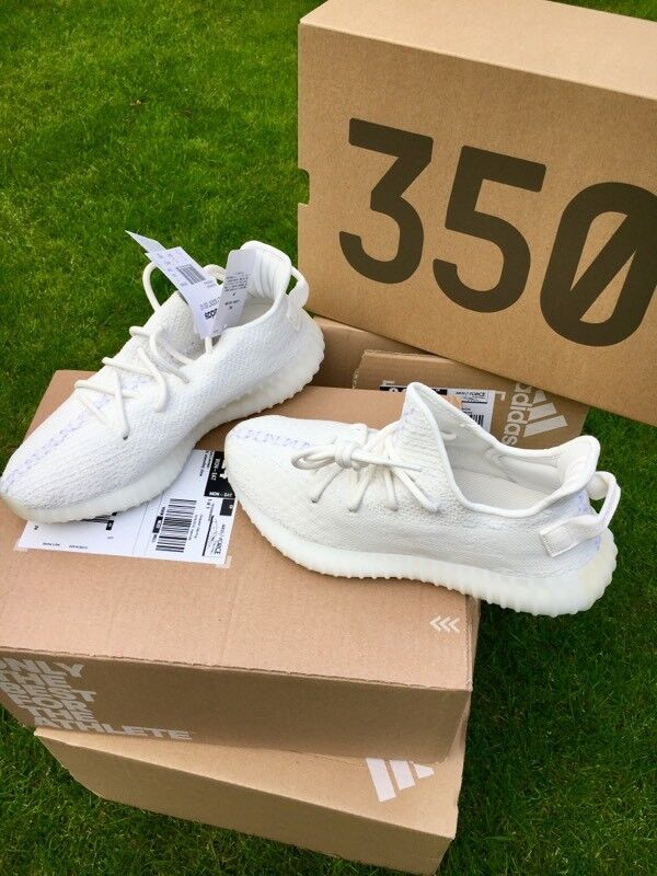 ff5509d9537ae Adidas Yeezy Boost 350 V2 Triple White Sizes 7 8 9 £250