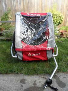 Instep Rocket Bike Trailer, 1 Or 2 Child