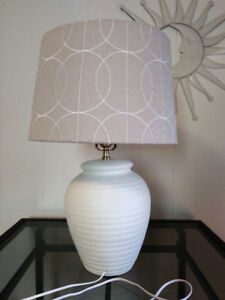Beautiful Beige Table Lamp