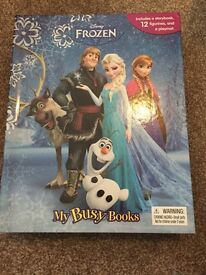 Frozen busy book NEW £5 ferndown