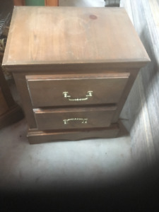Matching Bedroom Side Tables 25$ or  $50 Pair