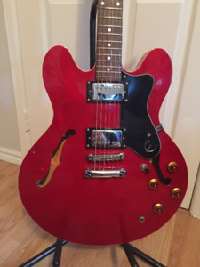 Epiphone ES-335 Dot with Hardshell Case