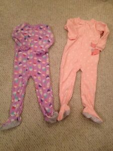 Girls 5t fleece onesie