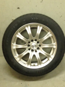 Snow Tires On Aluminum Rims