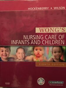 Nursing care of infants and children textbook for sale