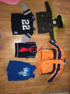 Baby boy clothes sizes 0-3-3-6,6-9,6-12,12-18,18-24,1,2,3,4t
