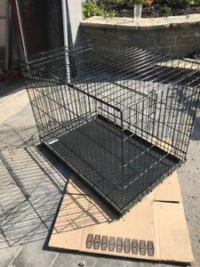 Cage pour chien  pliable - Foldable dog crate