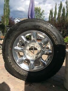 F-350 rims and tires Strathcona County Edmonton Area image 2