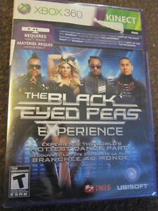 The Black-Eyed Peas Experience - XBox 360 Dance/Exercise NEW