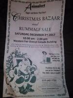 Annual Christmas Bazaar - for Animalert!