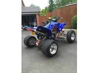 Yamaha Raptor 660 Road Legal