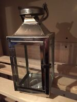 6 Stainless Steel Candle Lanterns