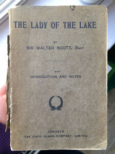 Lady of the Lake by Sir Walter Scott