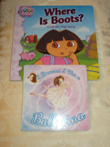 2 Board Books - Where is Boots/ Dreamed a ballerina