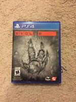 Selling evolve for ps4