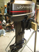 JOHNSON 25 HP LONG SHAFT WITH ELECTRIC START