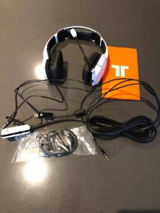 Mad Catz Tritton Kunai Stereo Gaming Headset  - White (New)