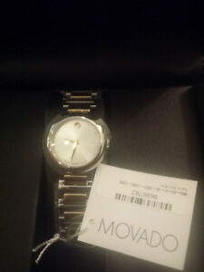 Brand new - original MOVADO watch with tags