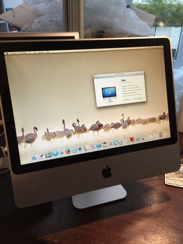 Apple iMac 20Small line on screenin Bournemouth, DorsetGumtree - Another unit that just needs a home , works perfectly but does have a faint line running down the screen (see pics ) so if you just need a cheap computer , maybe just for mucking around on or for the kids , this would be fab
