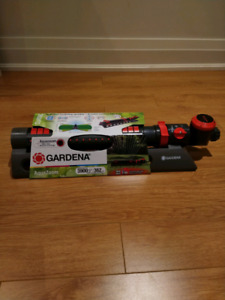 Gardena Sprinkler (New) + Water Timer & Quick Connect Adapter