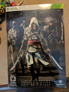 Assassin's Creed black flag limited edition