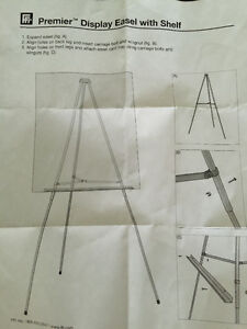 Premier Display Easel with Shelf Cambridge Kitchener Area image 3