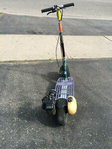 GoPed Gas Scooter - 2 Stroke Engine - Made In USA (California)