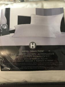 Two Hotel Collection King Size Pillows