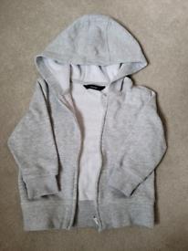 12-18 grey hooded jacket