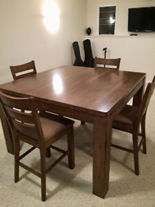 Pub Tables Buy Or Sell Dining Table Sets In Alberta Kijiji - Distressed wood pub table