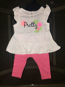 Brand new baby girl clothes 3-6 months