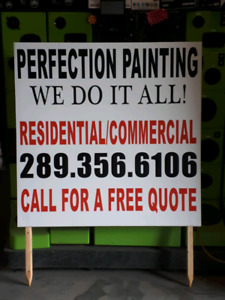 Storefront window signage, lawn signs & more!