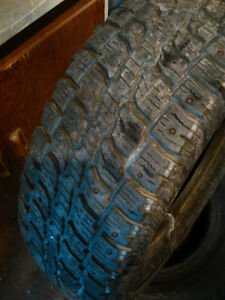 2 Studded winter tires   245/70 /17