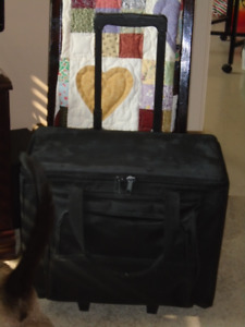 Sewing Machine Travel  Bag with Wheels and Handle