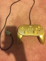 Golden wii controller used once